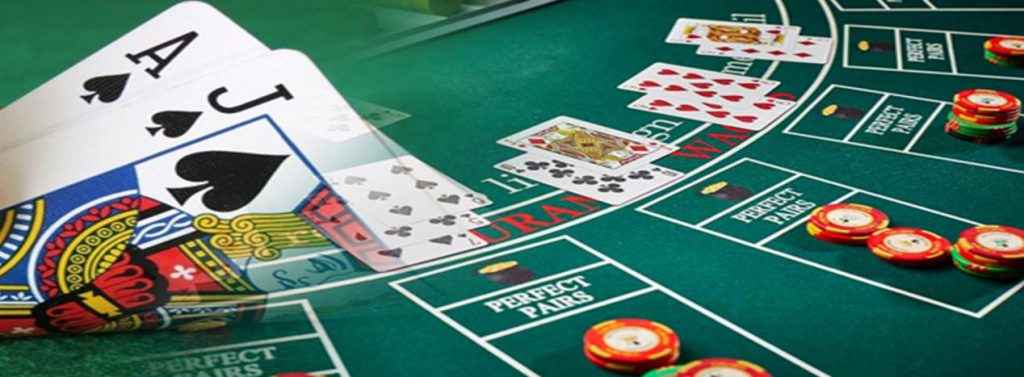 Description: Blackjack-Table-and-Cards